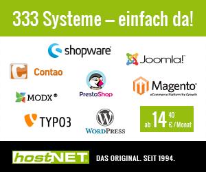 333 Systeme - einfach da!